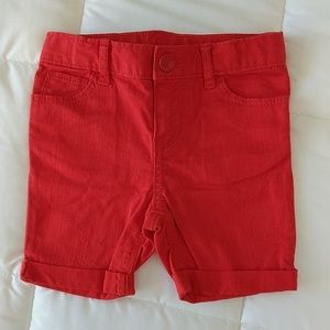 NWOT Baby Gap Adjustable Waist Jean Shorts